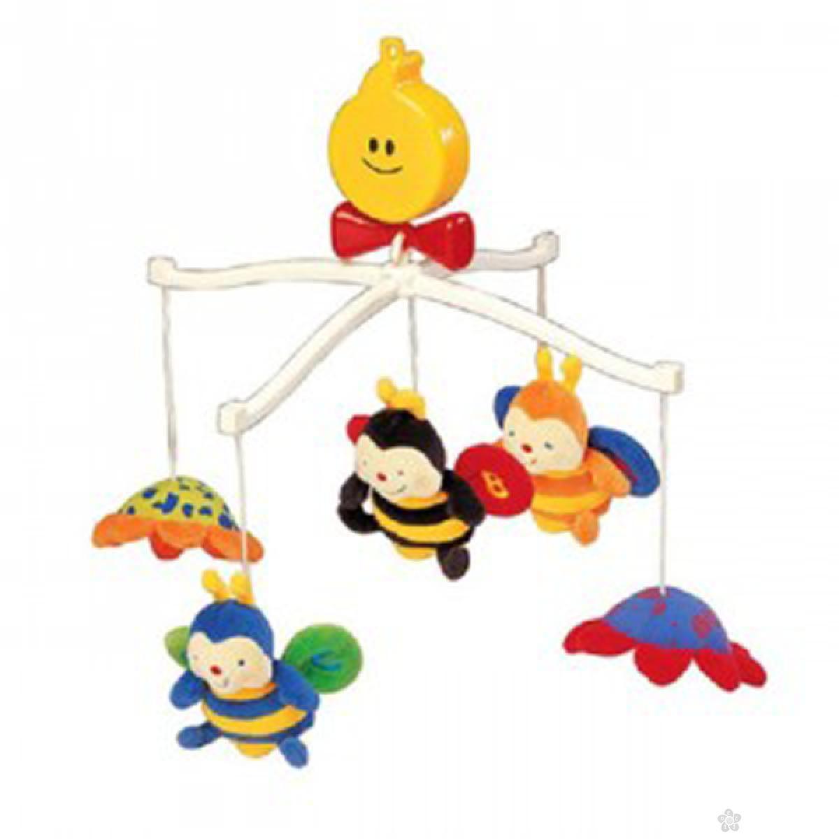 Muzička igračka za krevetac pčelice Ks Kids, KA10322
