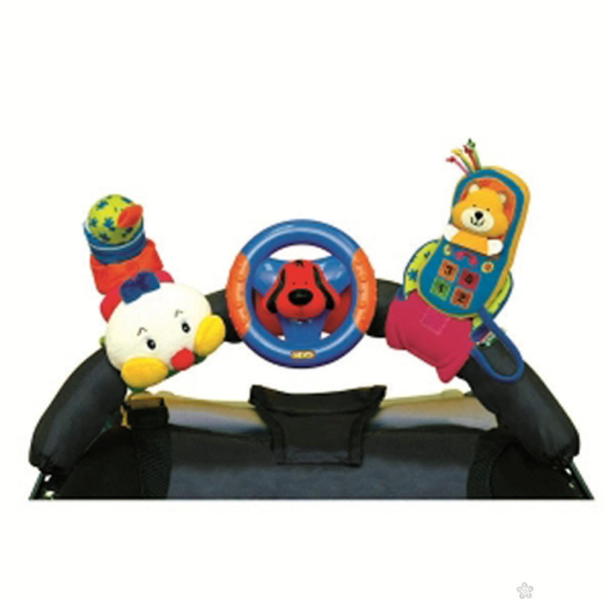 Igračka za krevetac ili kolica Veseli trio Ks Kids, KA10444