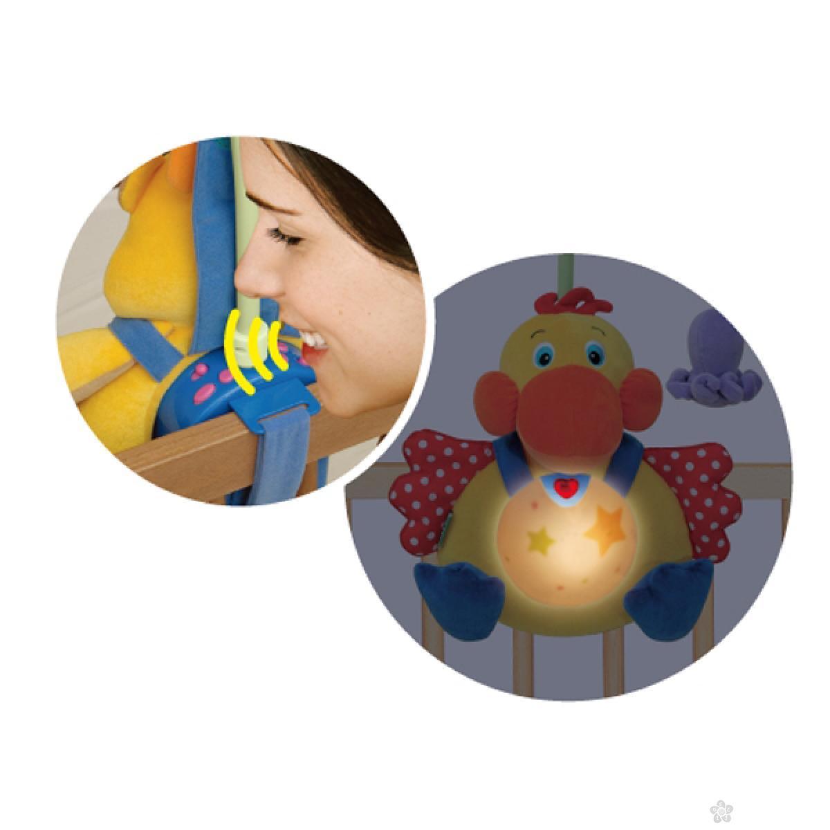 Muzička igračka za krevetac Gladni pelikan Ks Kids, KA10524