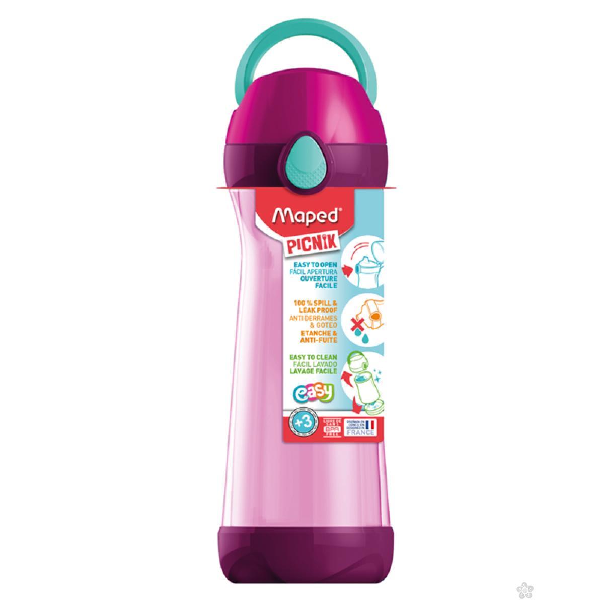 Maped Flaša za vodu Concept 580ml pink