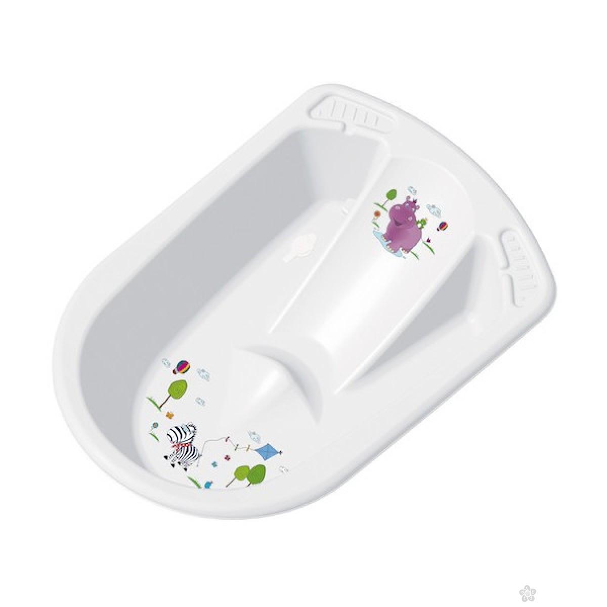 Kada za bebe sa naslonom ii odvodom za vodu Hippo, OKT-337