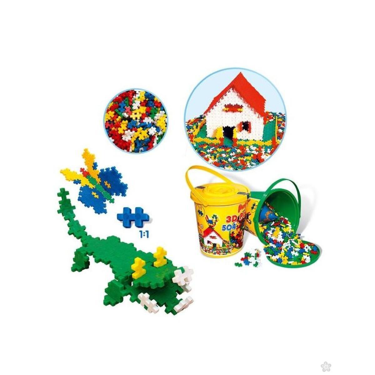 3D puzzle blocks 504, P-0137