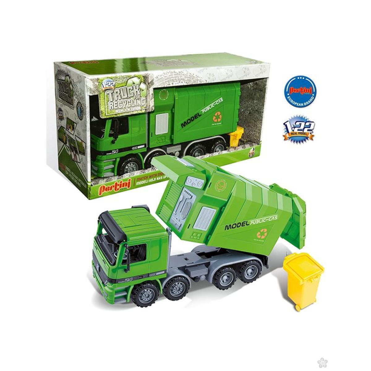 Vozilo za reciklažu, P-0274