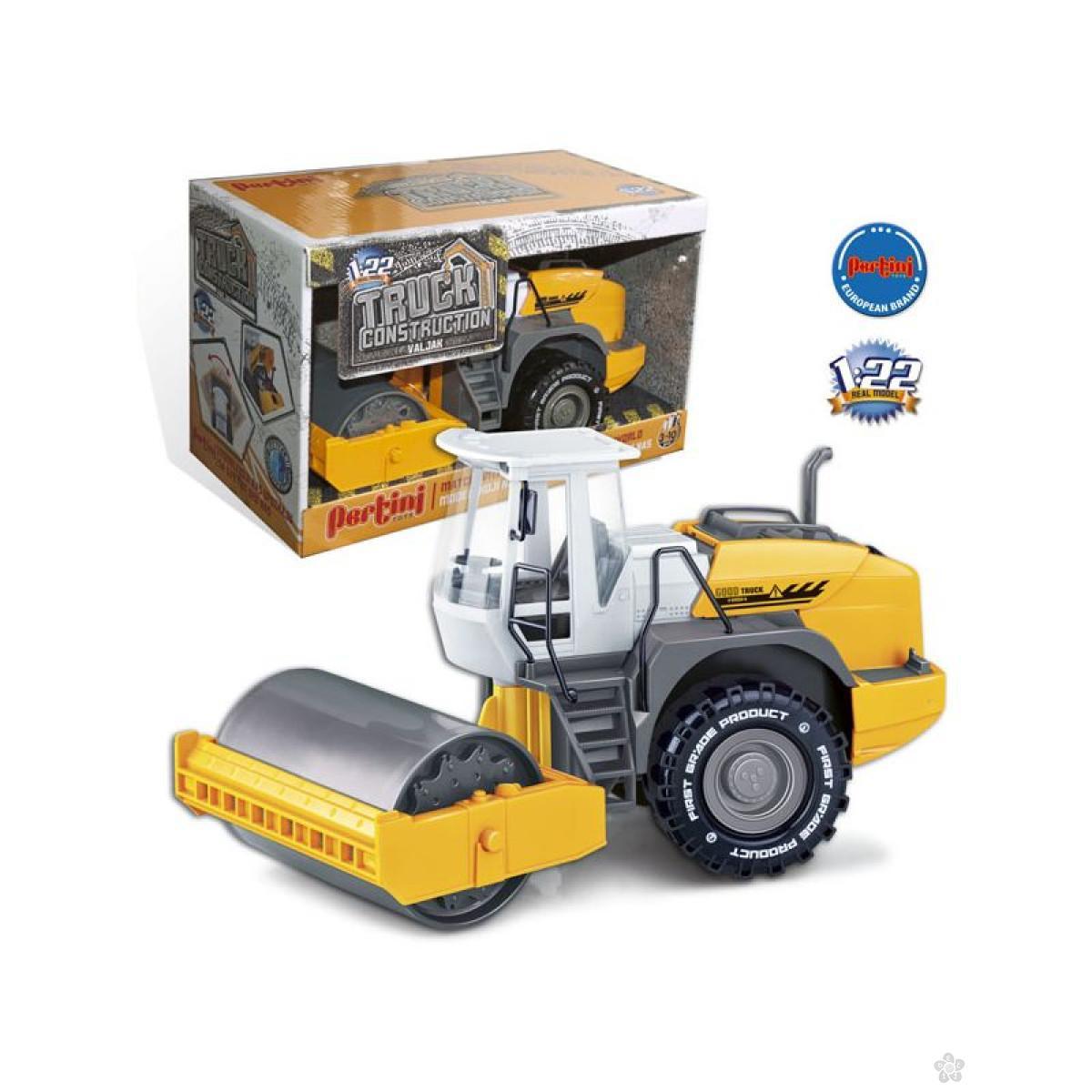 Traktor sa valjkom, P-0277