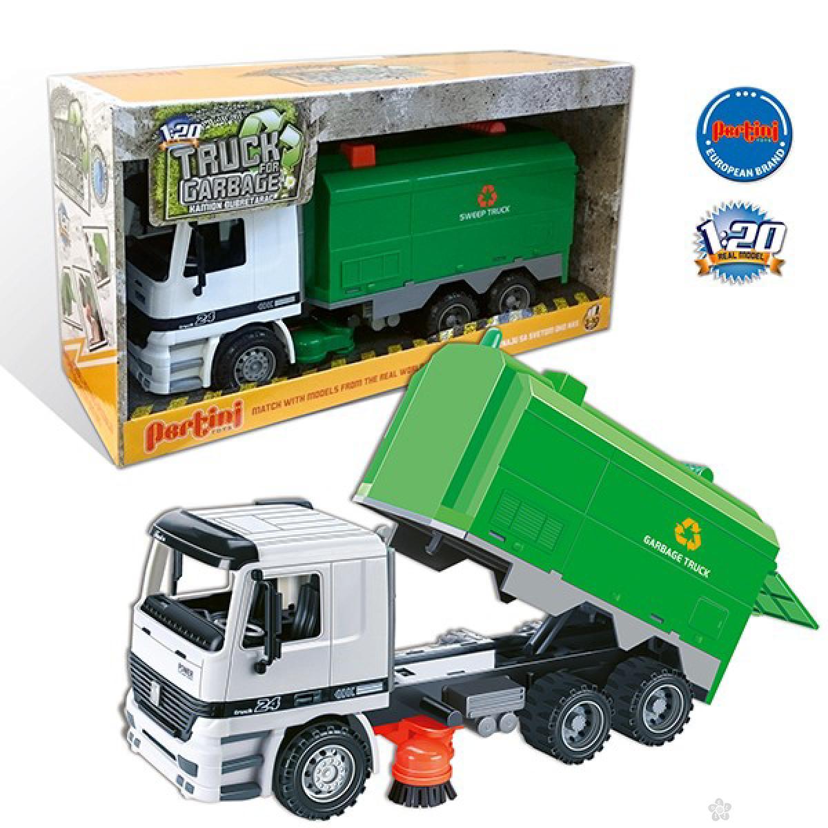 Građevinsko vozilo kamion kiper, P-0337