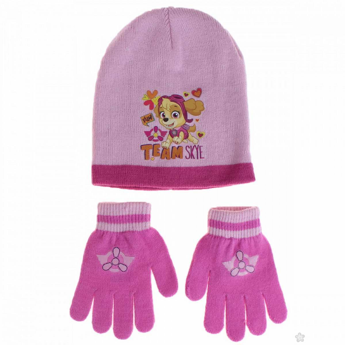 Zimski set kapa i rukavice Paw Patrol PT02224-2