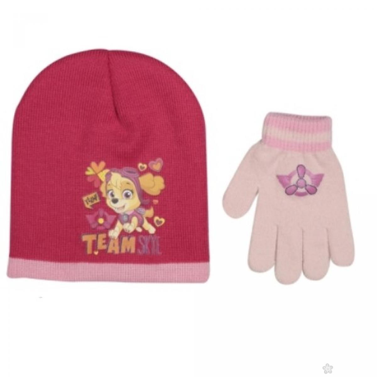 Zimski set kapa i rukavice Paw Patrol PT02224
