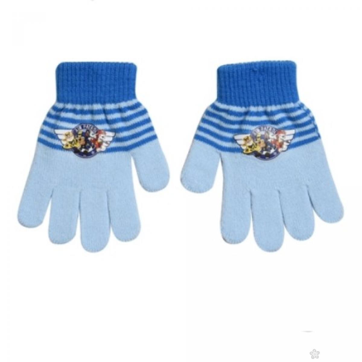 Rukavice Paw Patrol svetlo plave, PT02305