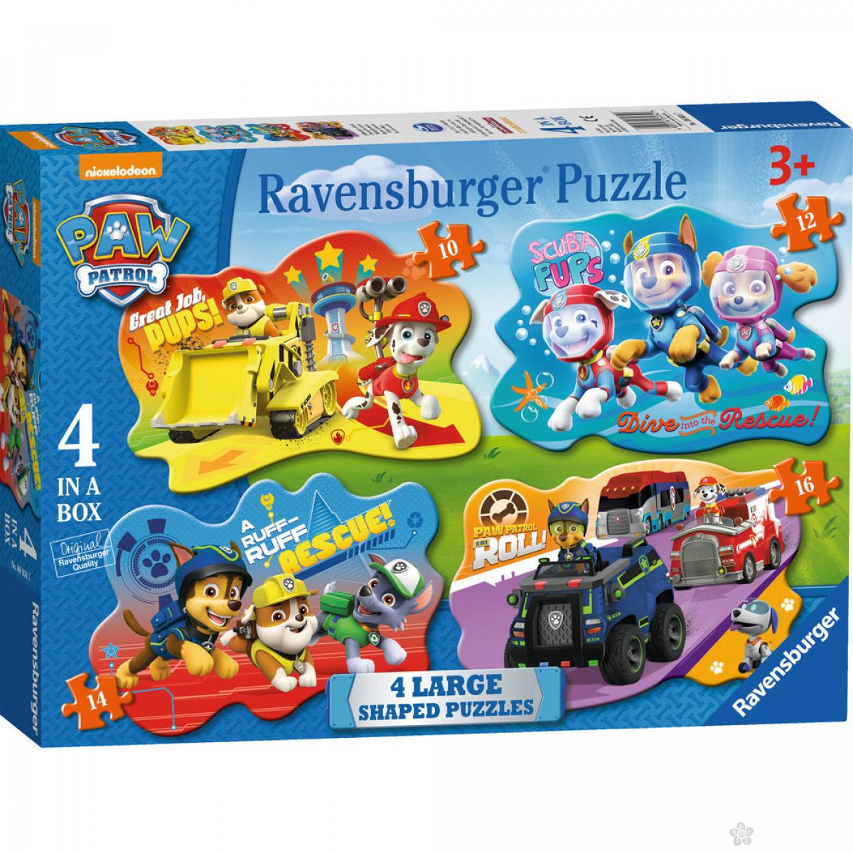 Ravensburger puzzle (slagalice) - Paw Patrol RA06934
