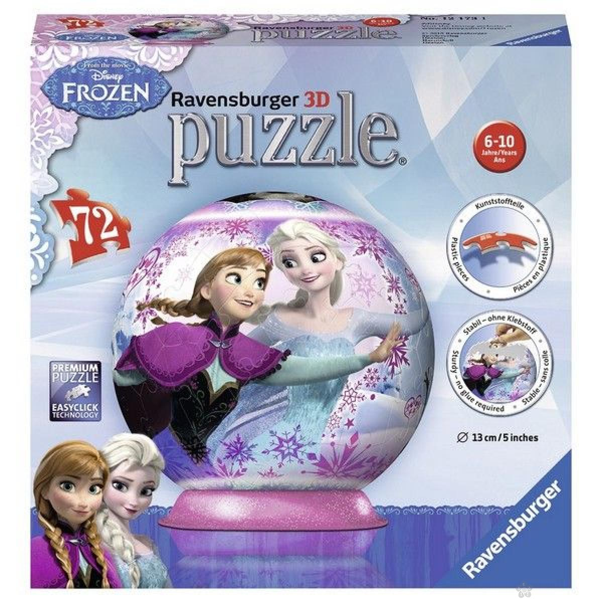Ravensburger 3D puzzle (slagalice) - Frozen RA12173