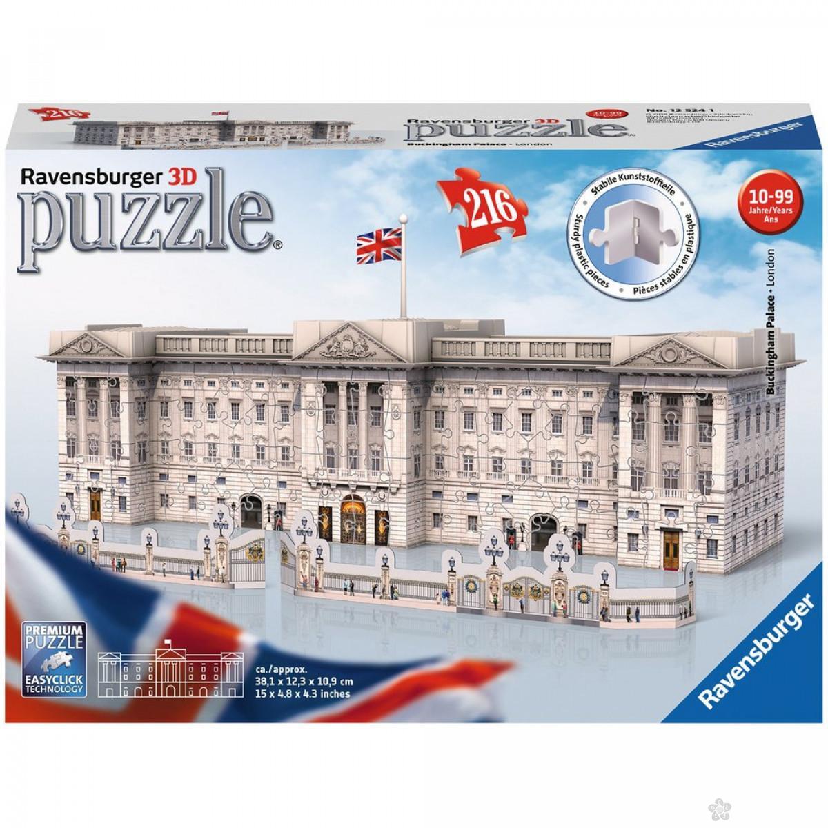 Ravensburger 3D puzzle (slagalice) - Bakingemska palata, RA12524