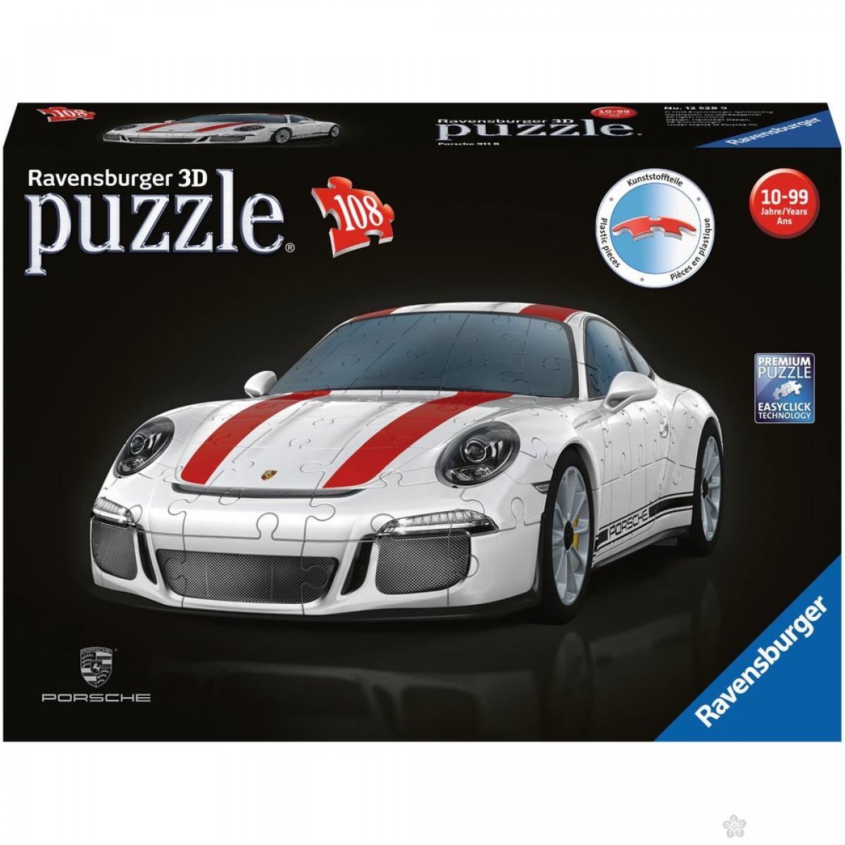Ravensburger 3D puzzle (slagalice) - Porche, RA12528