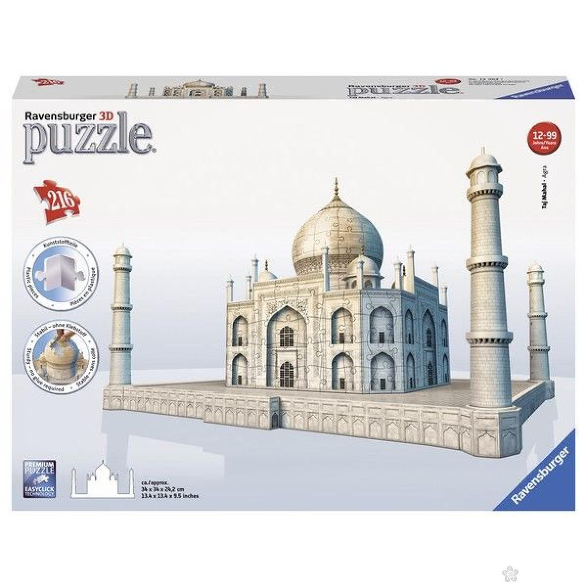 Ravensburger 3D puzzle (slagalice) - Tadž Mahal RA12564