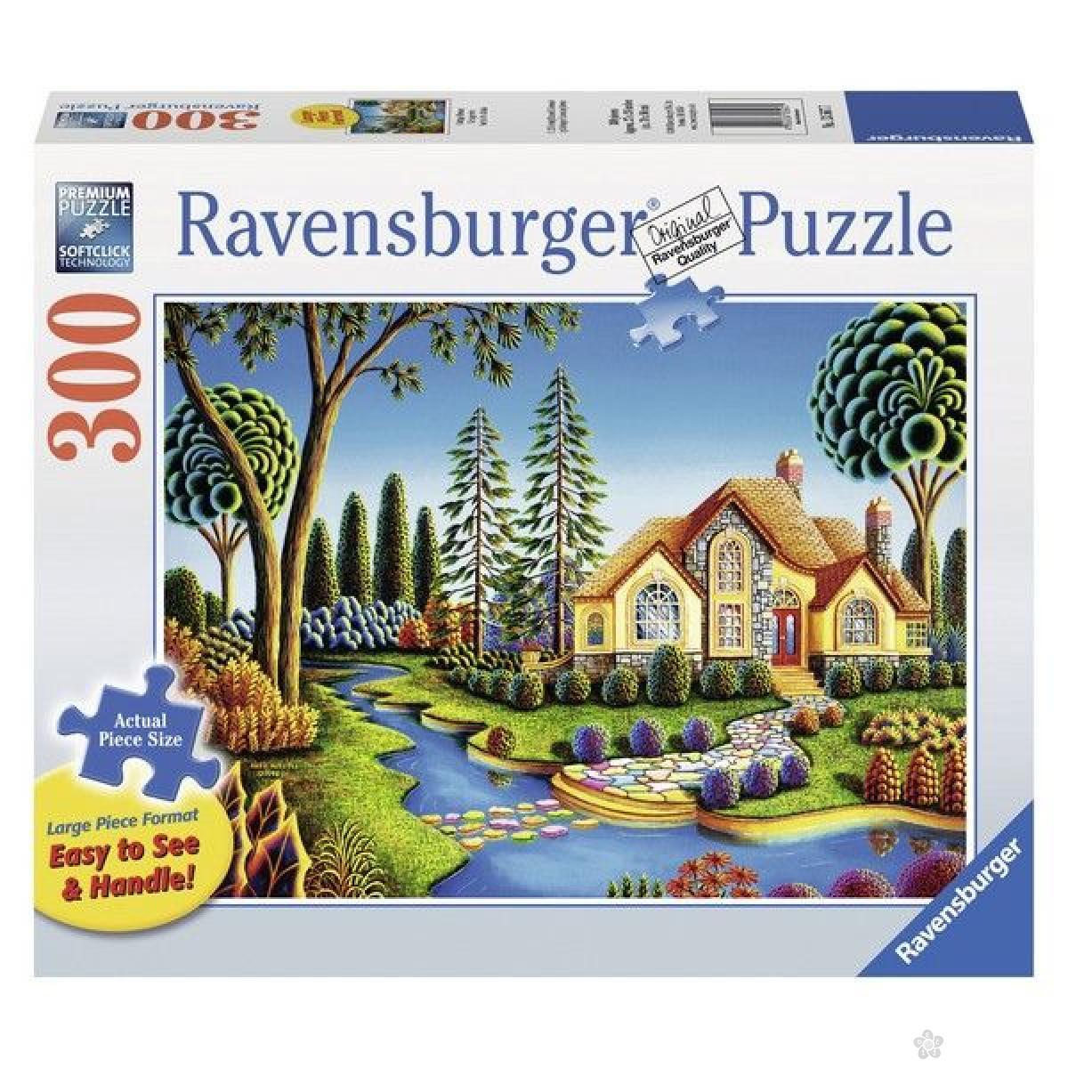 Ravensburger puzzle (slagalice) - Kuća iz snova RA13567