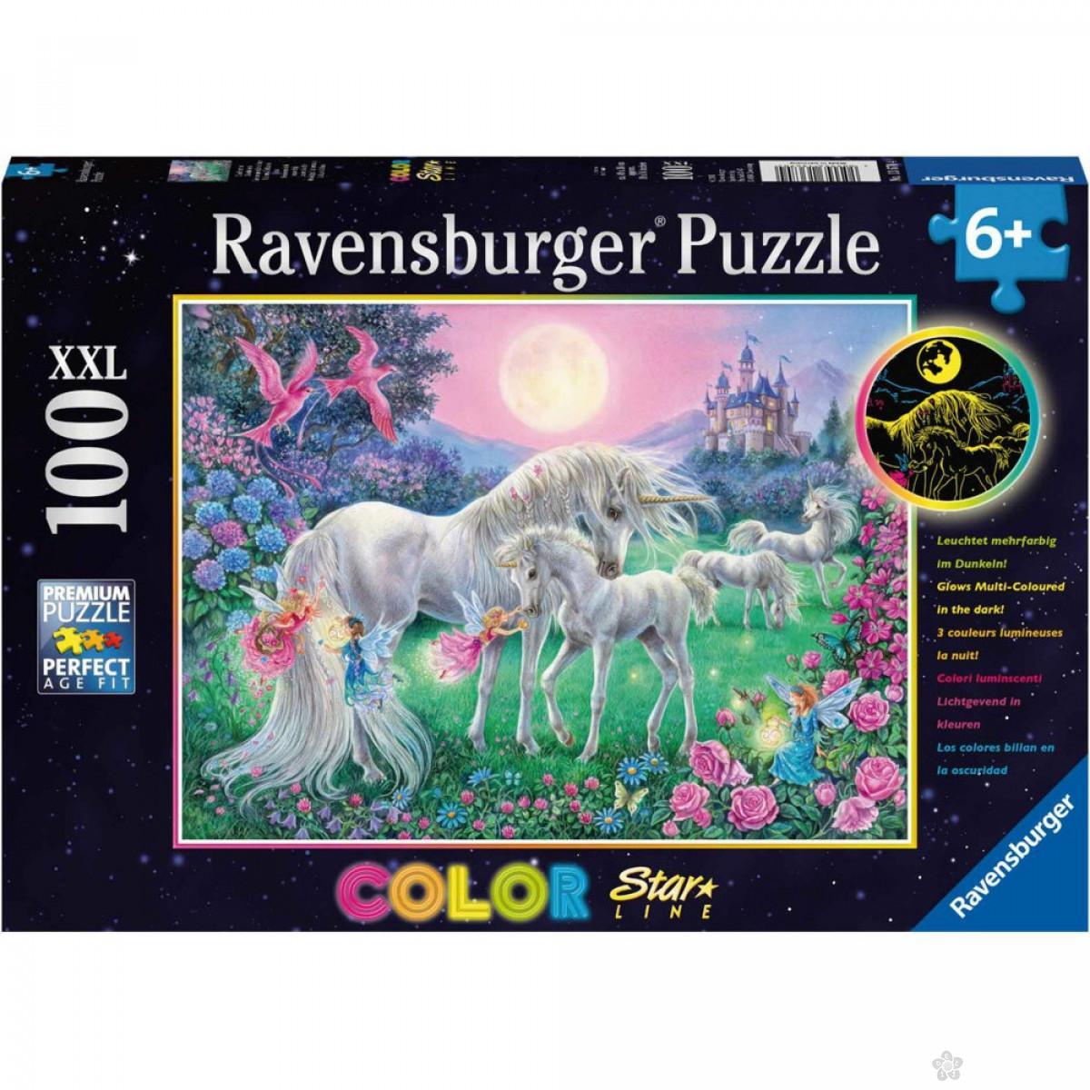 Ravensburger puzzle (slagalice) - Jednorozi u prirodi, RA13670