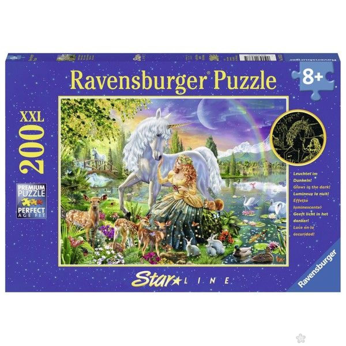 Ravensburger puzzle (slagalice) - Svetleći jednorog RA13673