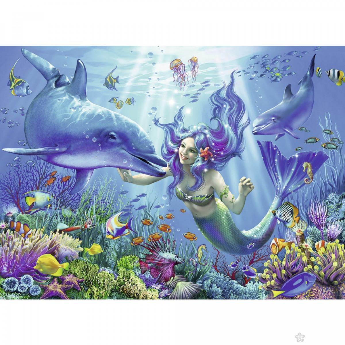 Ravensburger puzzle (slagalice) - Podvodna magija, RA13678