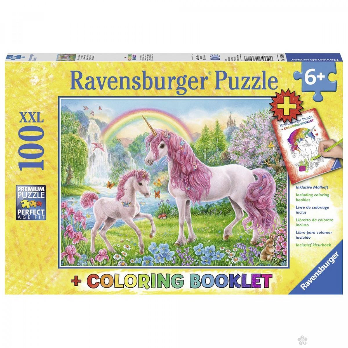 Ravensburger puzzle (slagalice) - Magični jednorozi, RA13698