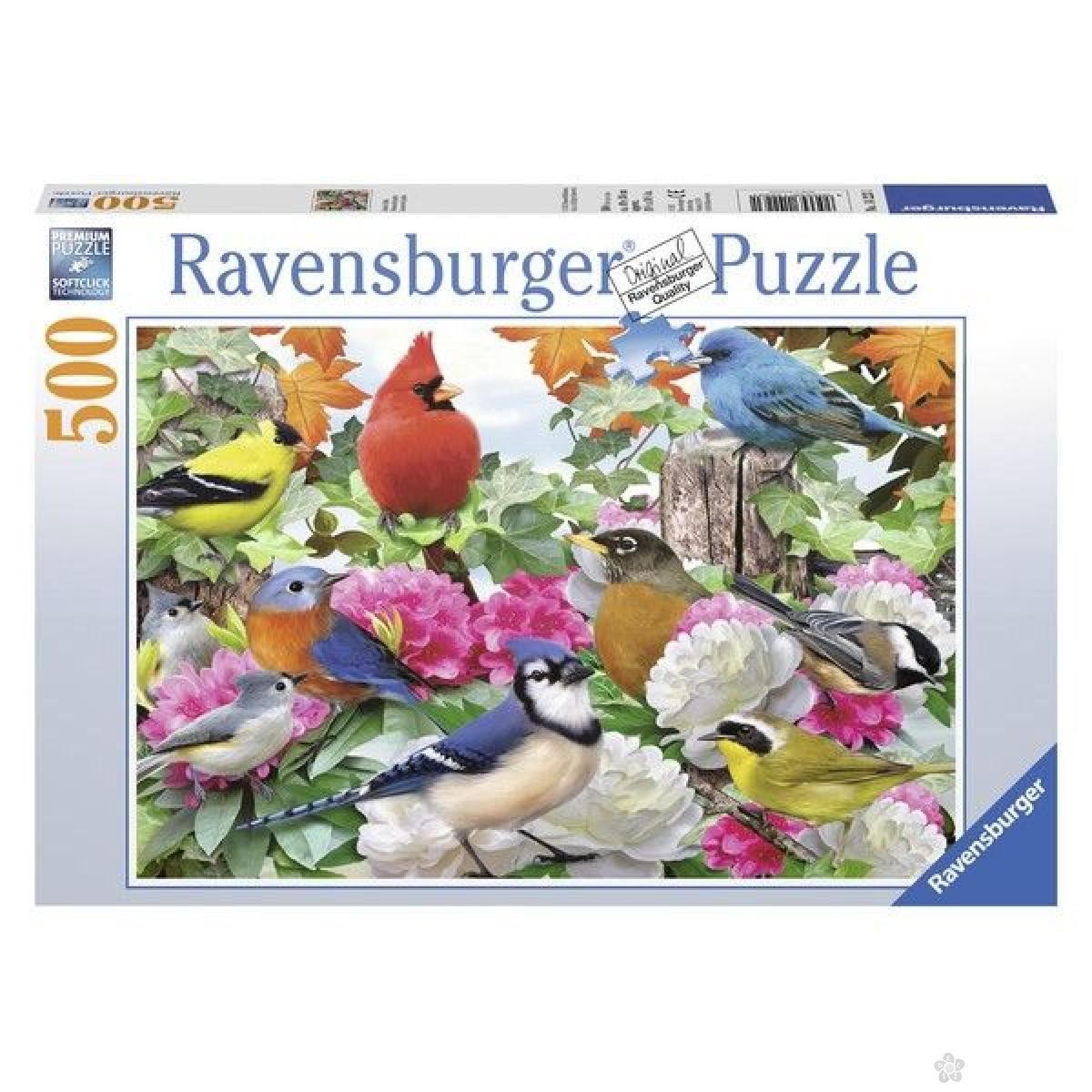 Ravensburger puzzle (slagalice) - Ptice u basti RA14223