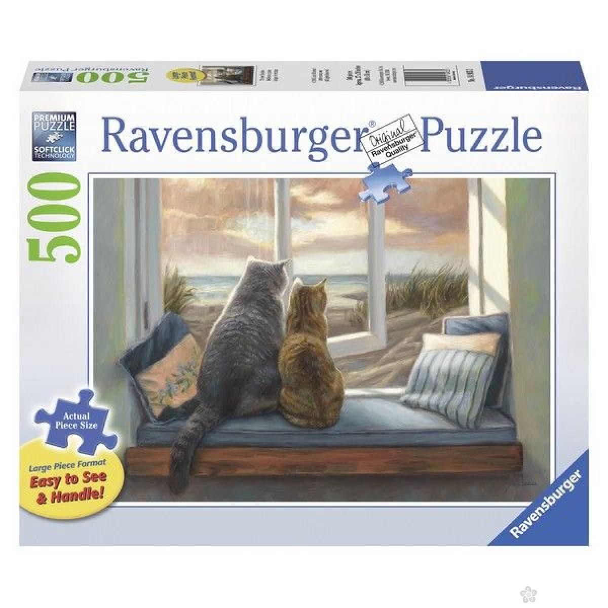 Ravensburger puzzle (slagalice) - Pogled sa prozora RA14903
