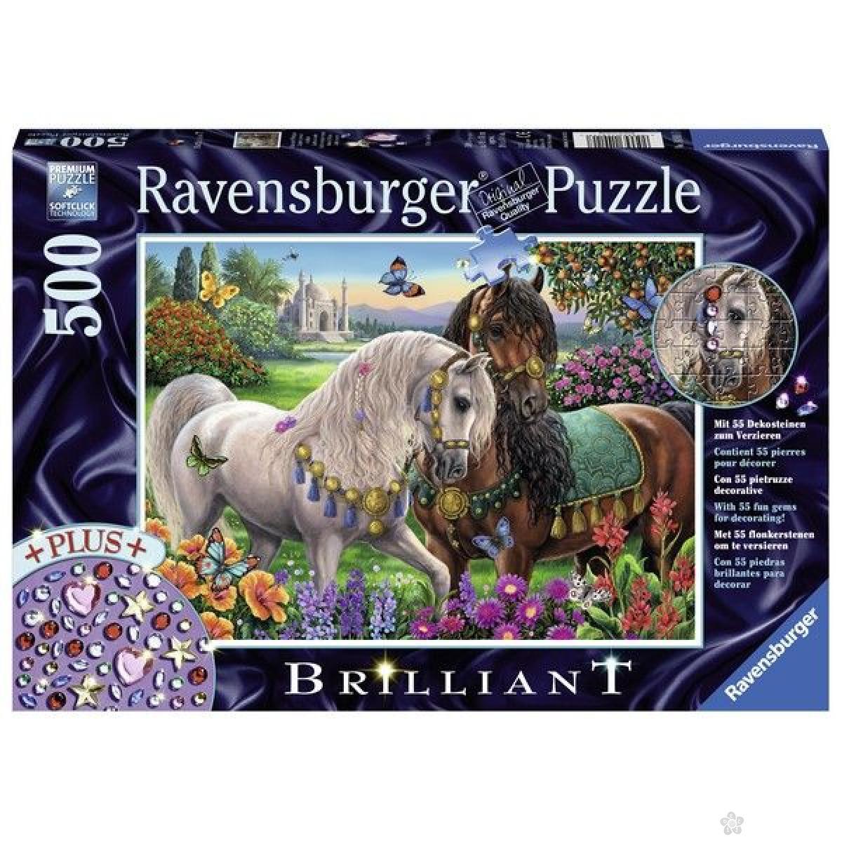 Ravensburger puzzle (slagalice) - Koni ukrašeni RA14911
