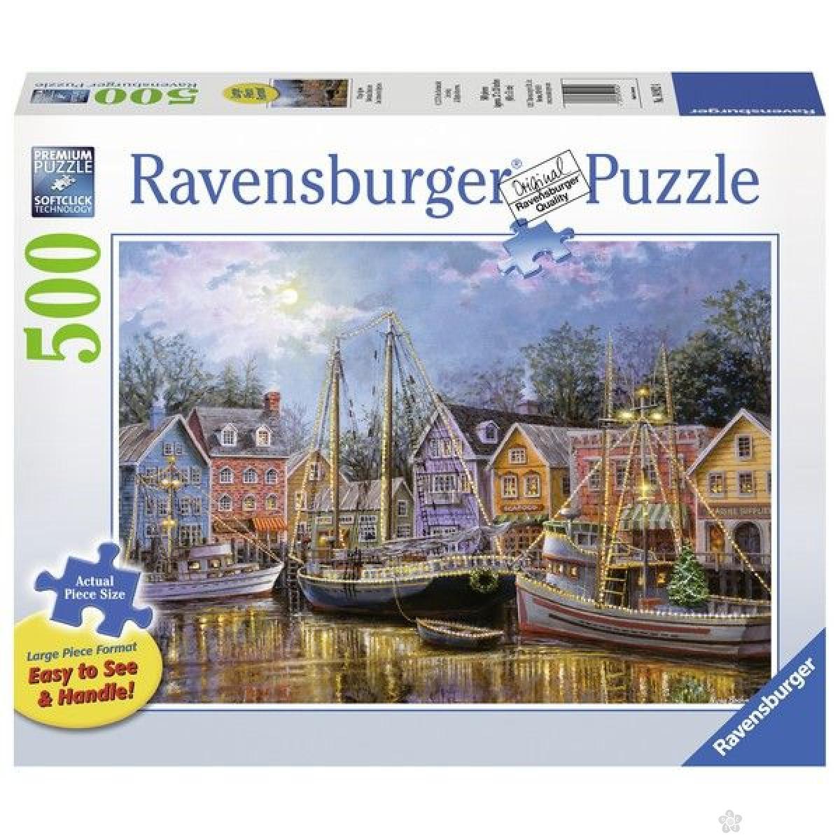 Ravensburger puzzle (slagalice) - Usidreni brodovi RA14912