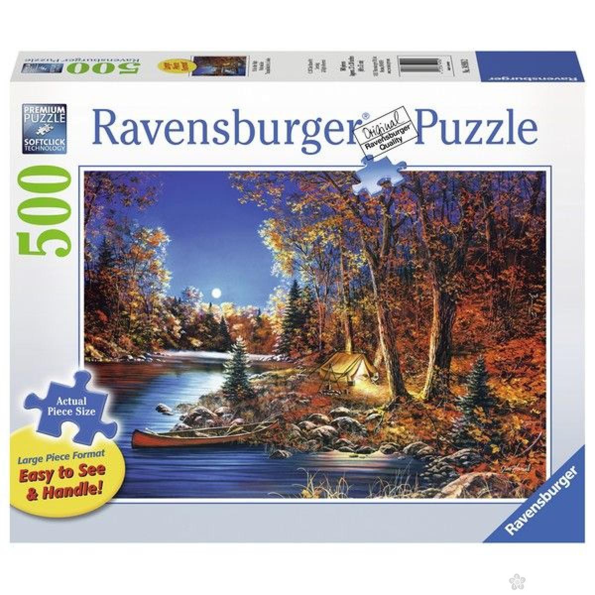 Ravensburger puzzle (slagalice) - Noć u šatoru RA14916