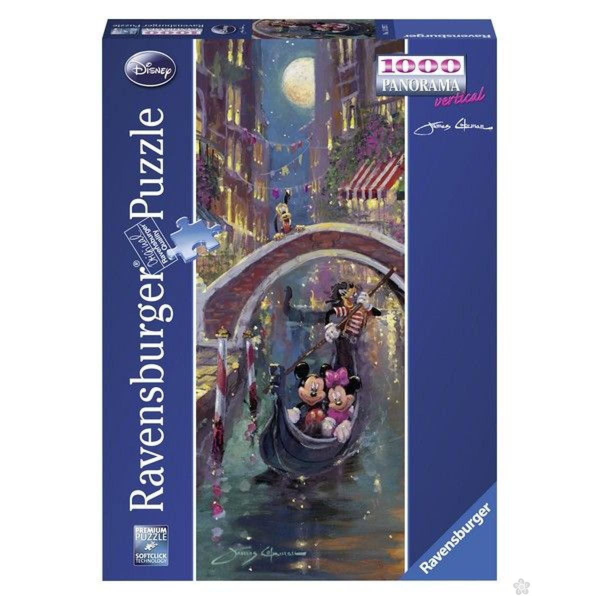 Ravensburger puzzle (slagalice) - Miki i Mini panorama RA15055