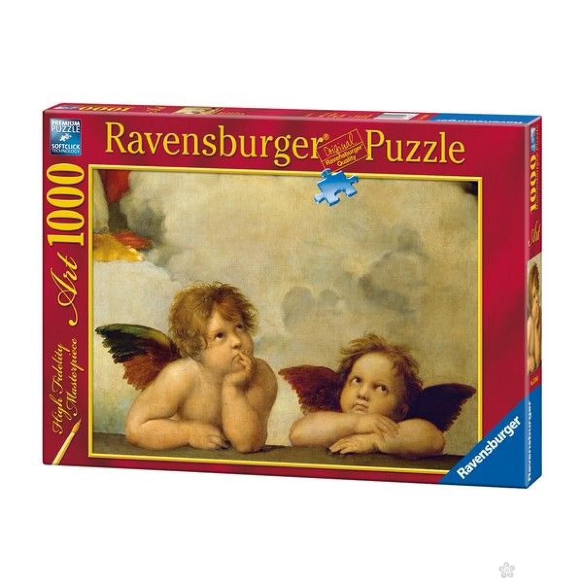 Ravensburger puzzle (slagalice) - Rafaleo-Mali anđeli RA15544