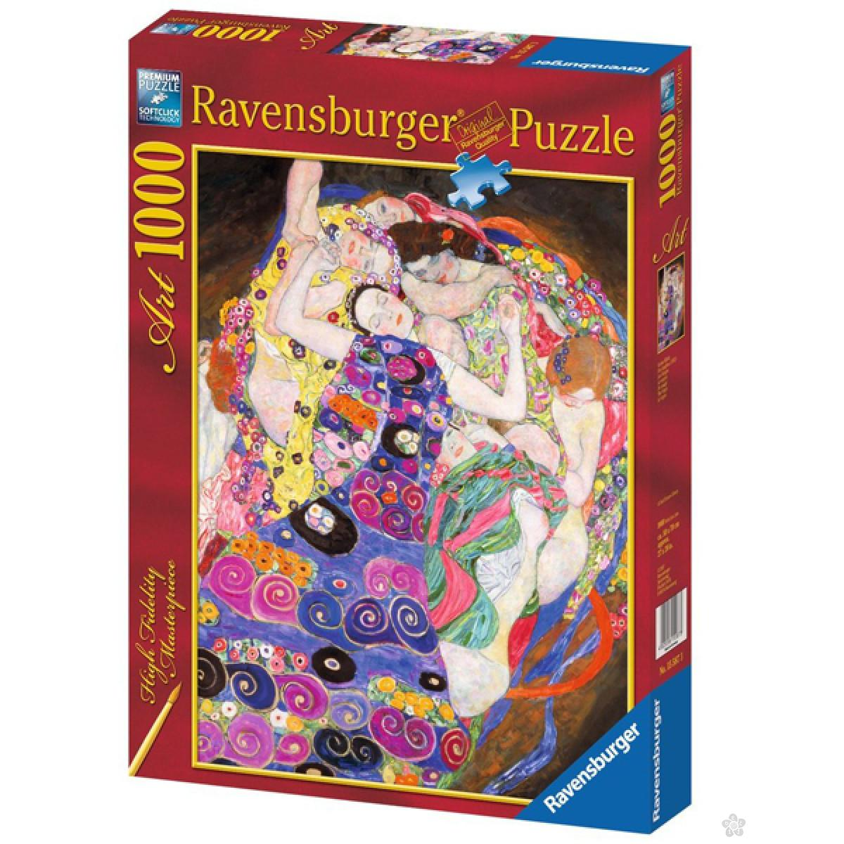 Ravensburger puzzle (slagalice) - Klimt: Virgins RA15587