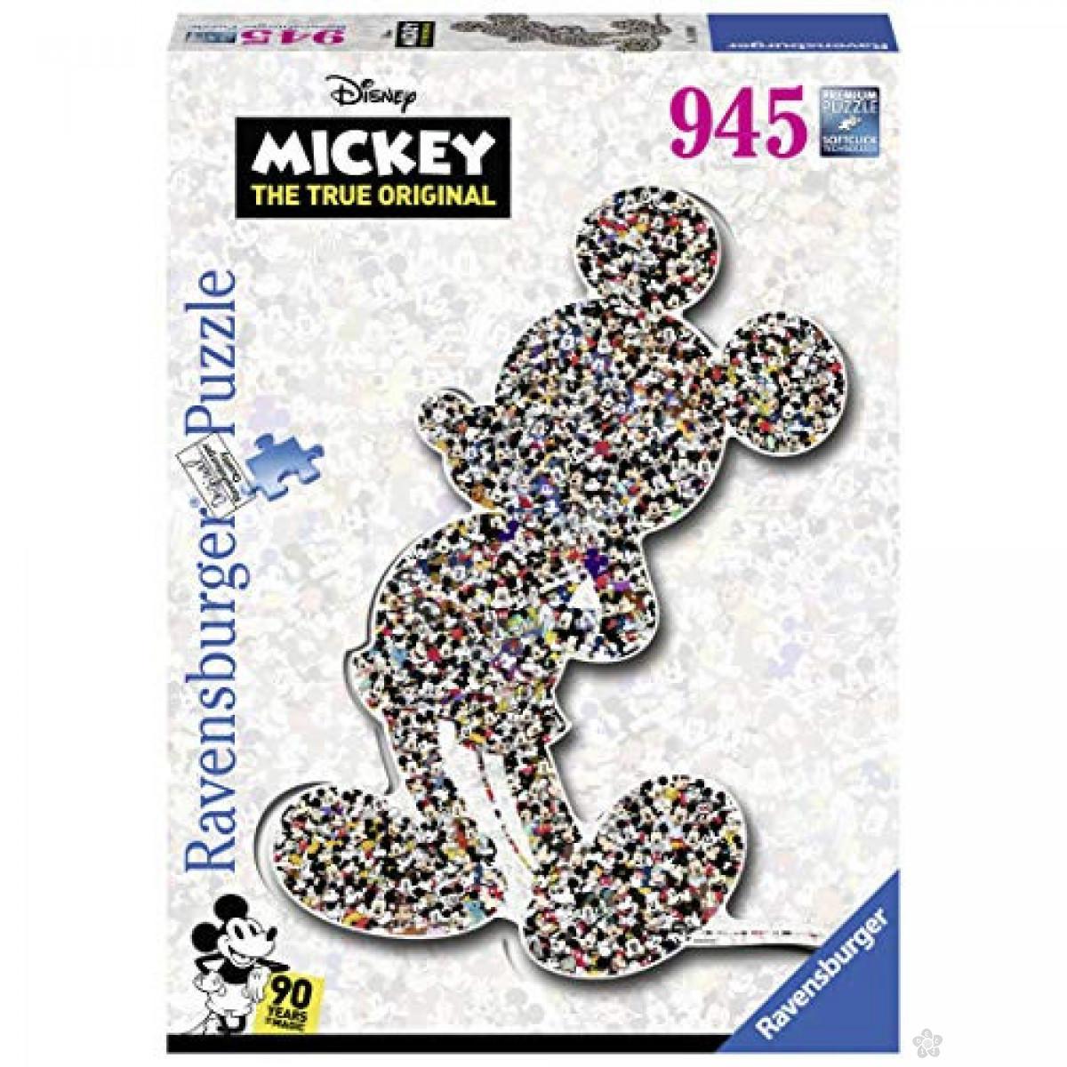 Ravensburger puzzle (slagalice) - Mickey, RA16099
