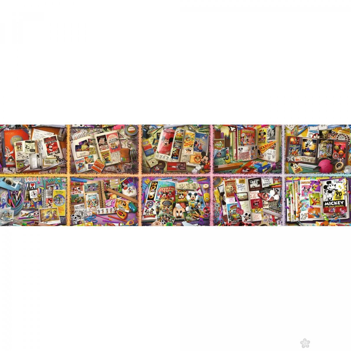 Ravensburger puzzle (slagalice) - Mickey 40320 delova, RA17828