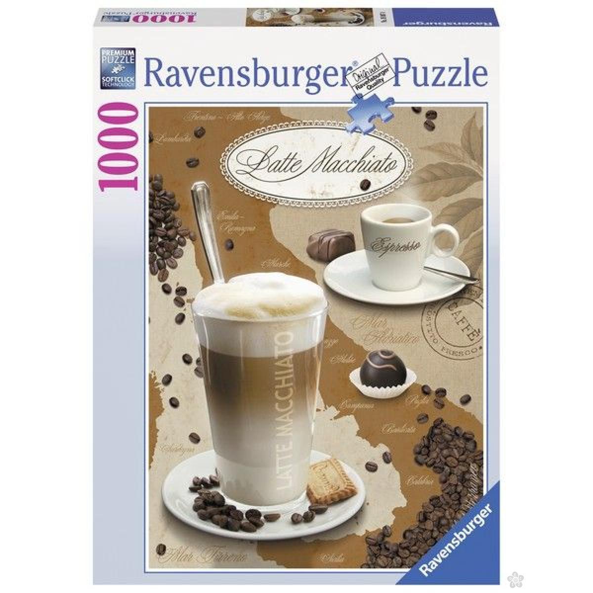 Ravensburger puzzle (slagalice) - Kapućino RA19087