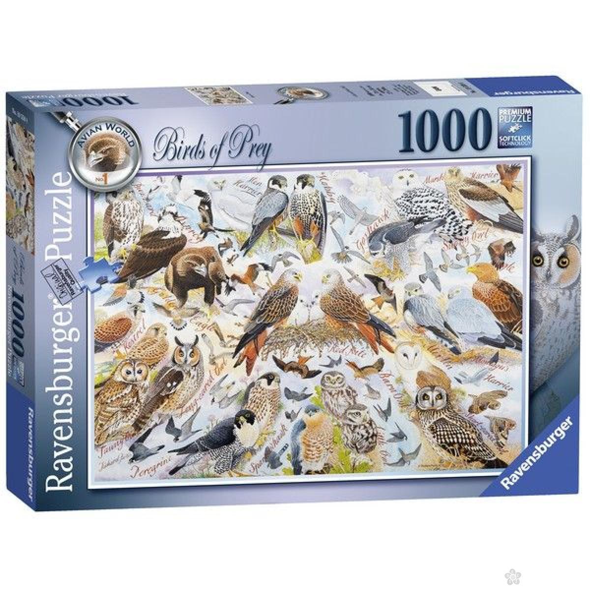 Ravensburger puzzle (slagalice) - Ptice RA19559