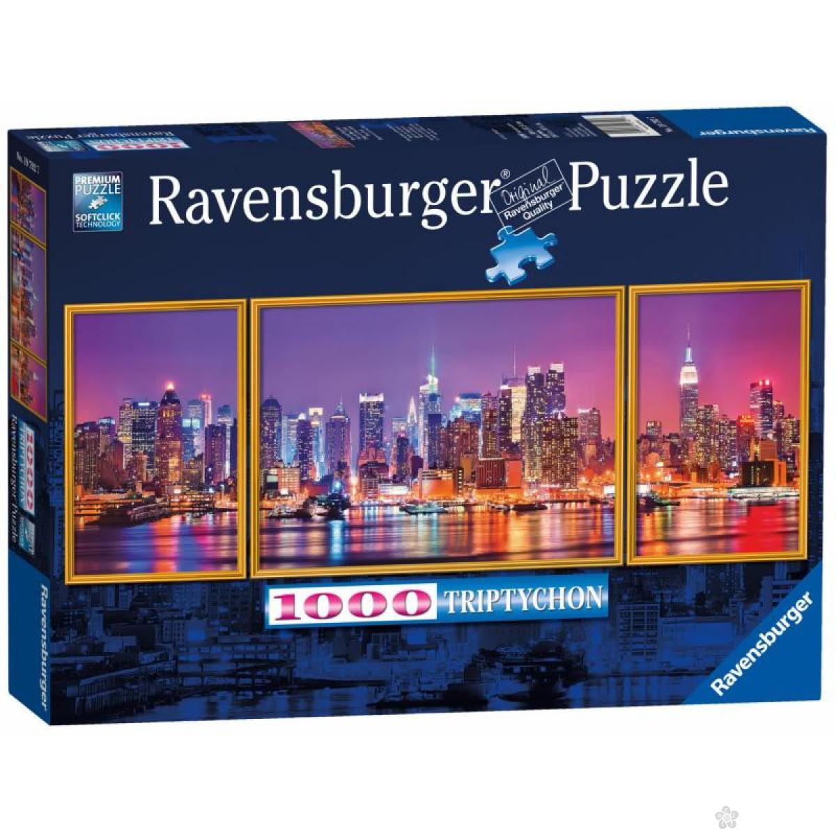 Ravensburger puzzle (slagalice) - New York, RA19792