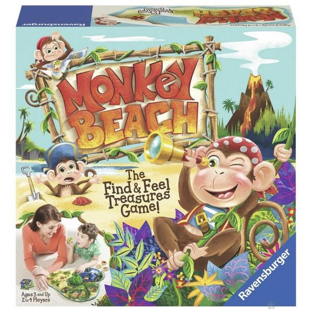 Ravensburger društvena igra - Monkey Beach RA21145