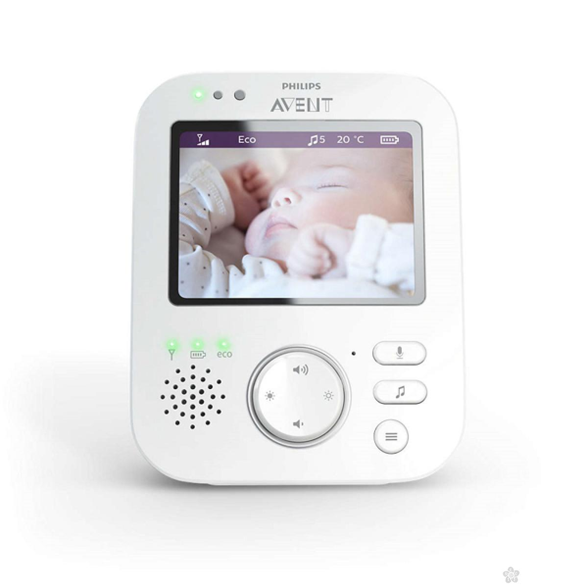 Digital Avent Video Baby Monitor SCD630/52