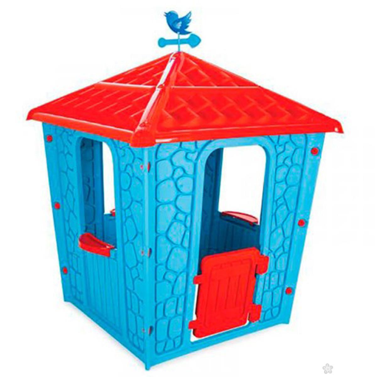 Kućica za decu Kamena kuća Pilsan T06437, plava