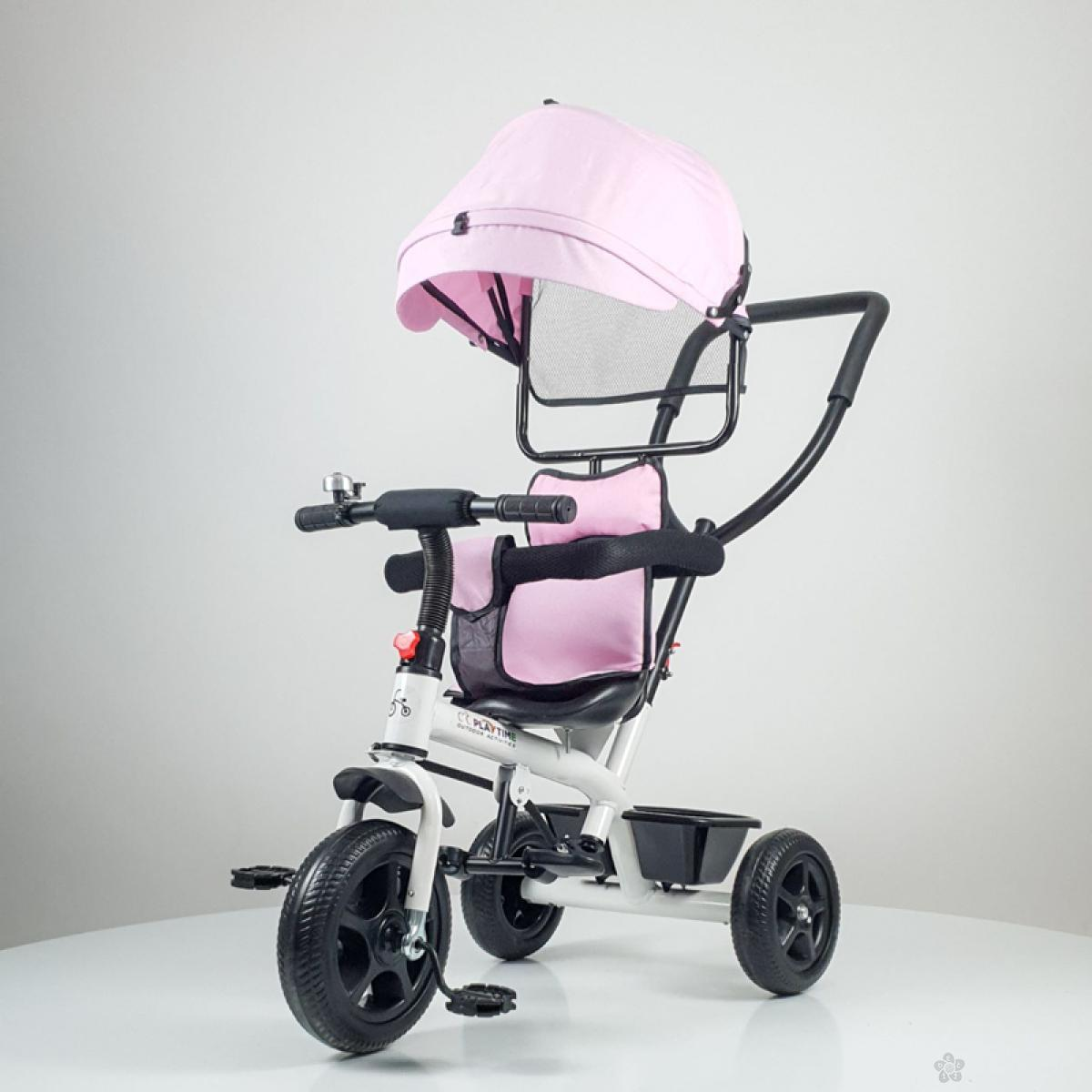Tricikl Playtime Little model 415, roze
