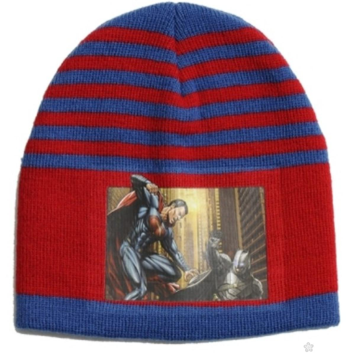 Kapa za dečake Betman vs Superman WB02003, crvena