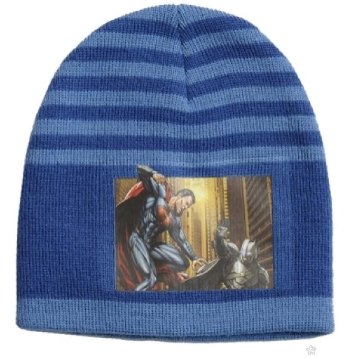 Kapa za dečake Betman vs Superman WB02003, plava