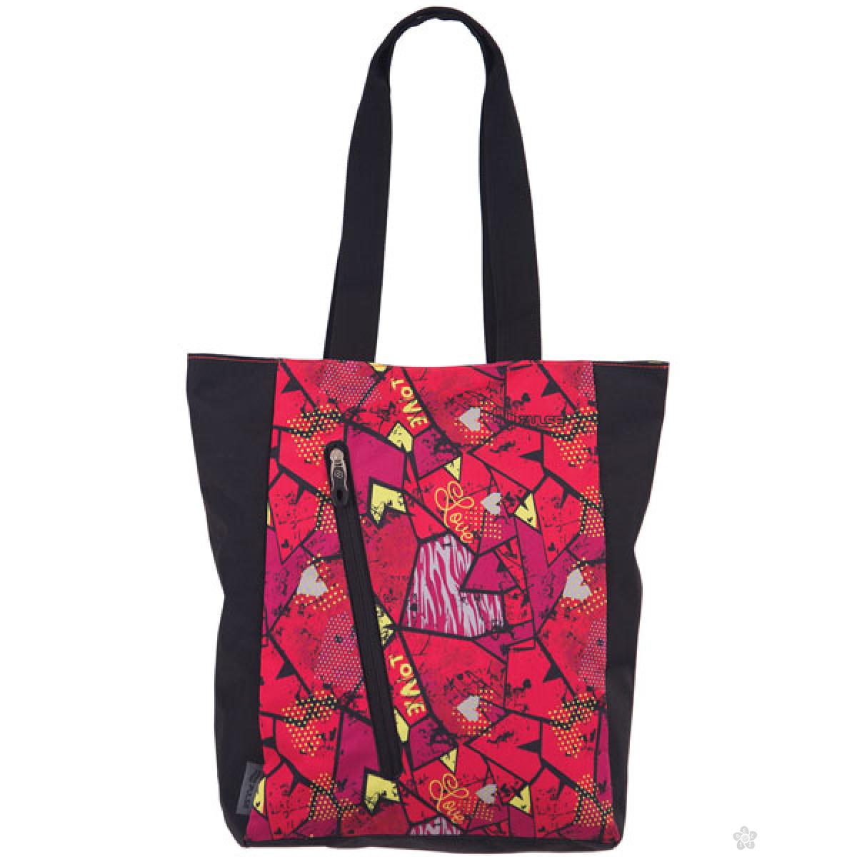 Shopping bag Cots Square Heart