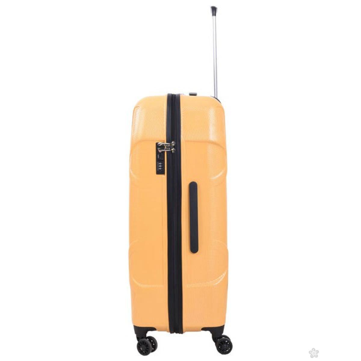 Kofer Pulse Soho žuti 28inch X21158