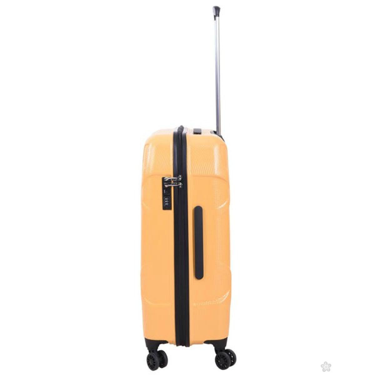 Kofer Pulse Soho žuti 24inch X21159