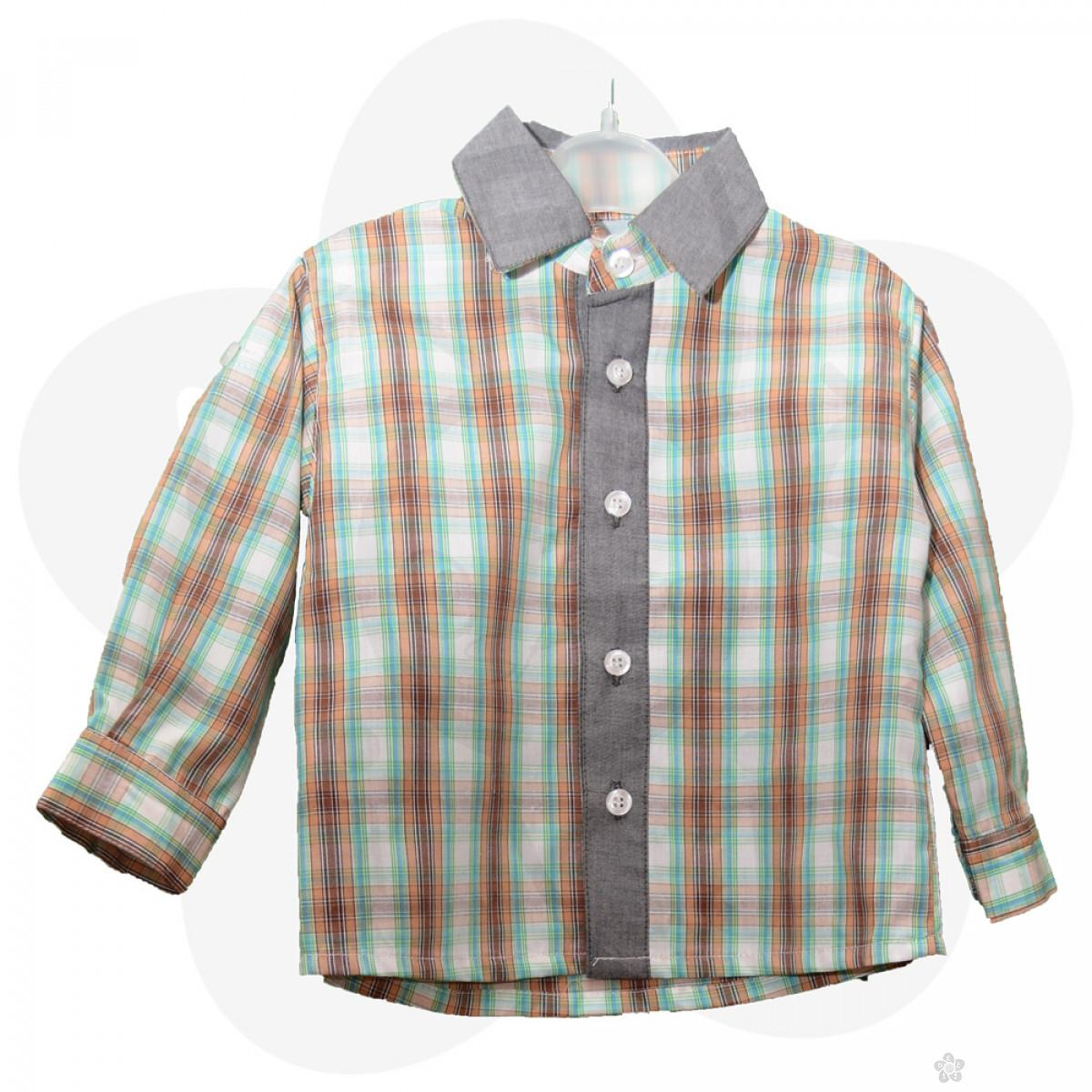 Karirana košulja za dečake