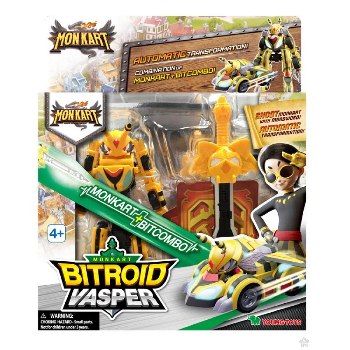 Akciona figrura Bitroid Vasper Monkart MK00093