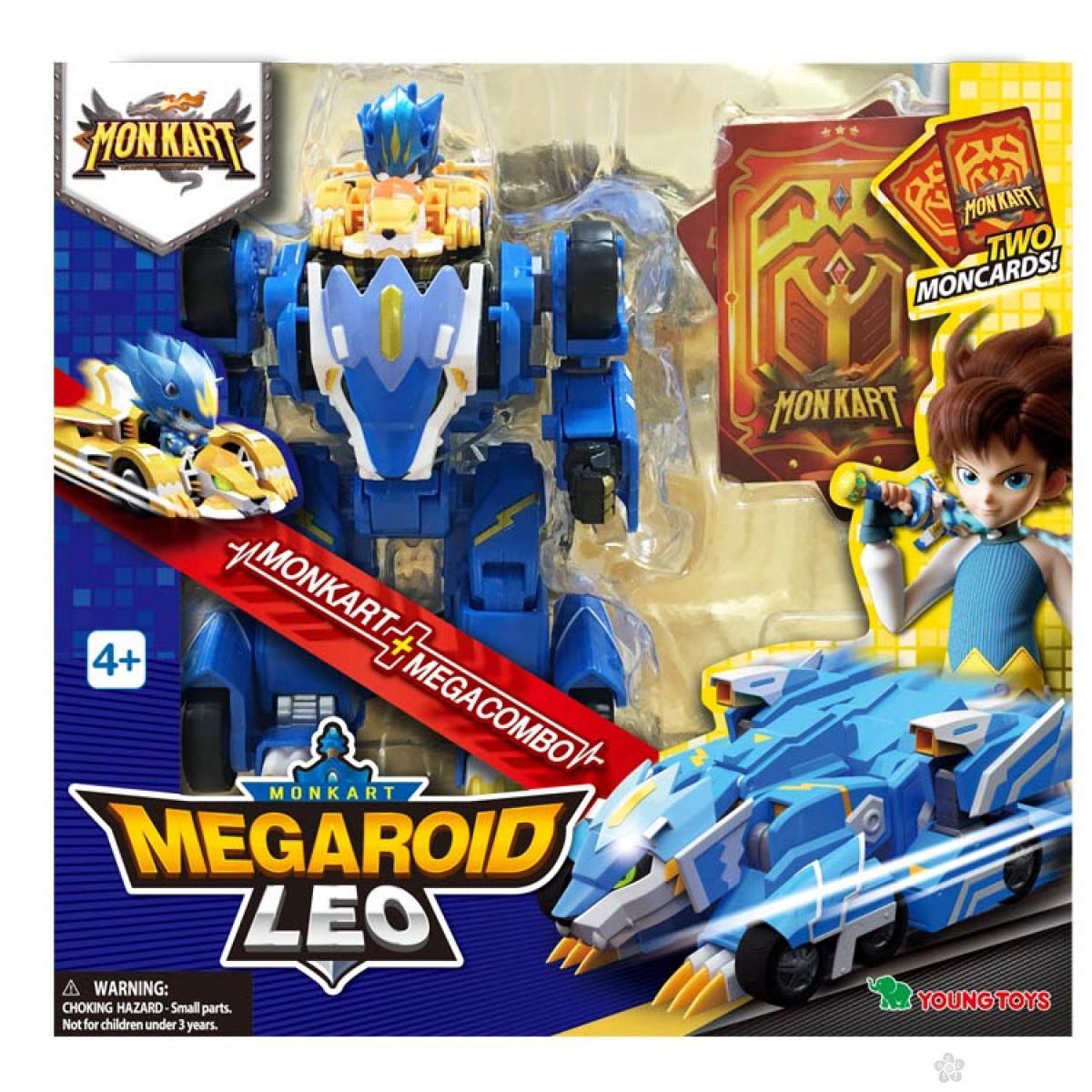 Akciona figrura Megaroid Leo Monkart MK00055