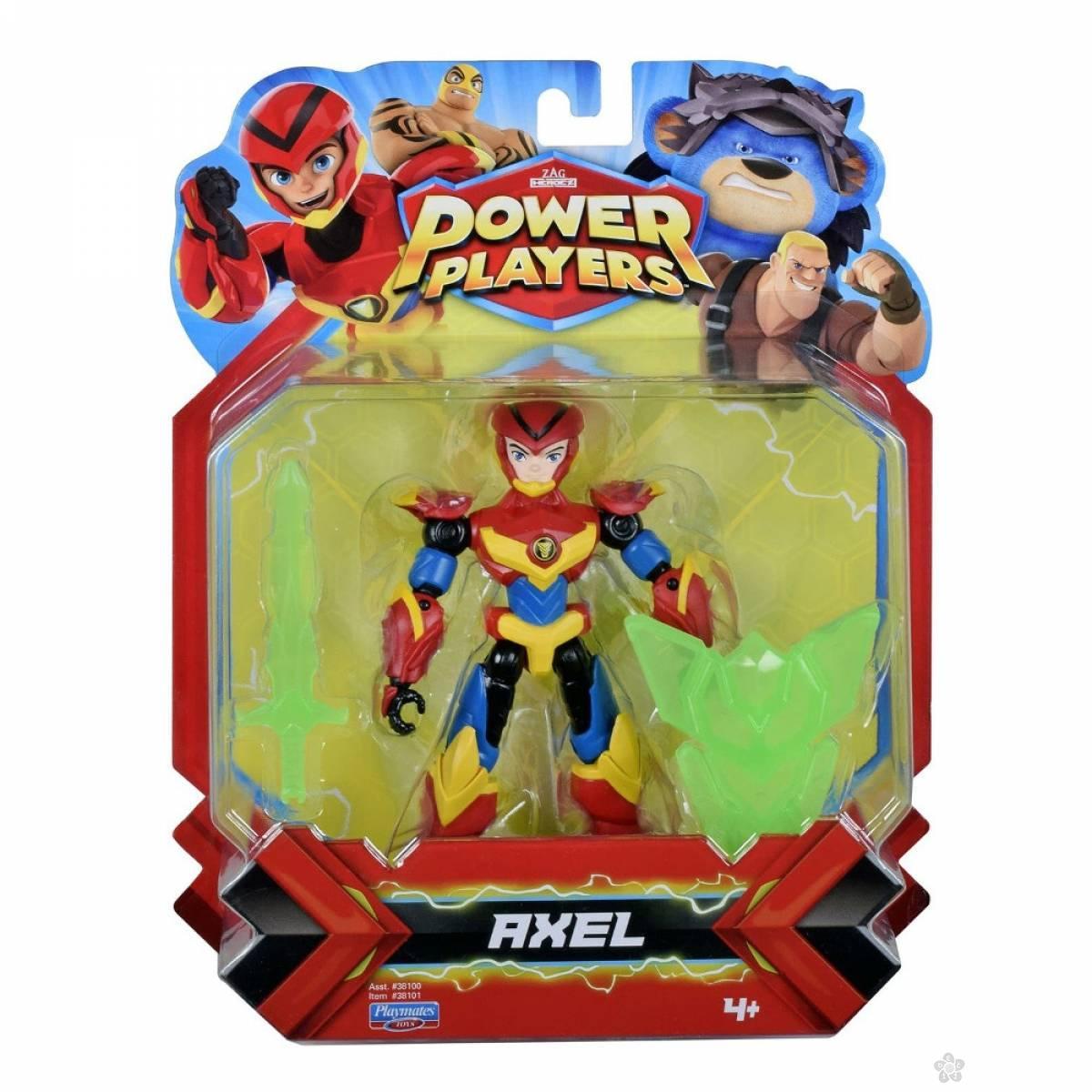 Akciona figrura Power Players Axel 38151