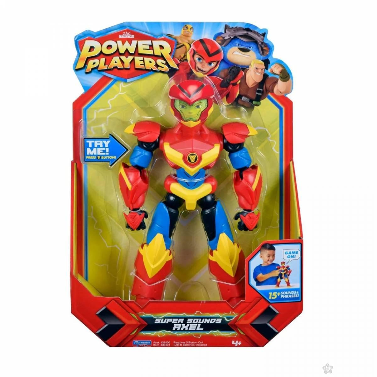 Akciona figrura velika Power Players Axel 38401