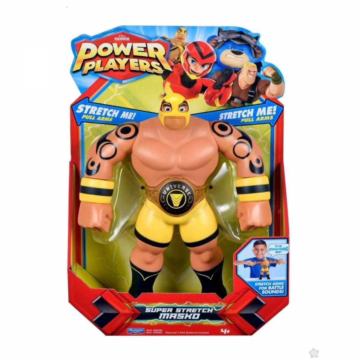 Akciona figrura velika Power Players Masko 38403